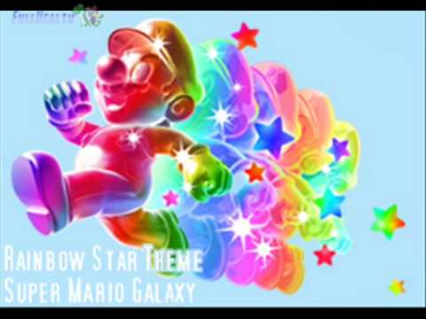 Super Mario Galaxy: Rainbow Star Invincibility Music