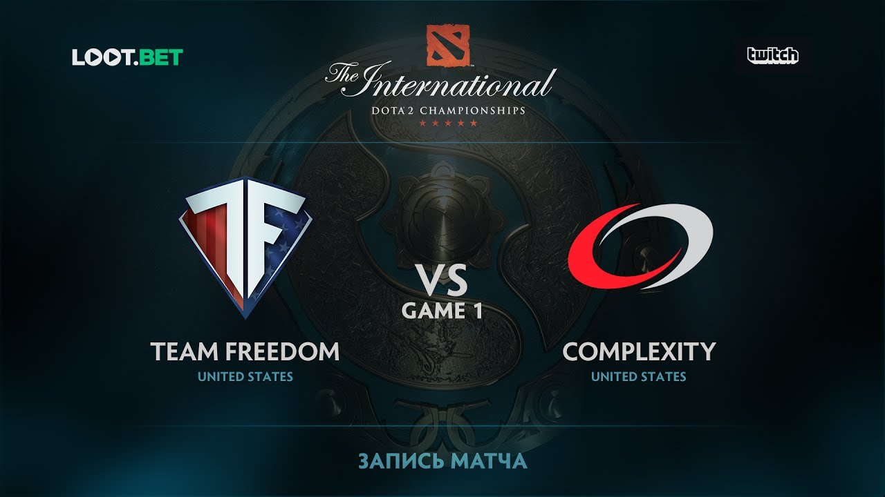 Freedom vs coL, Game 1, The International 2017 NA Qualifier