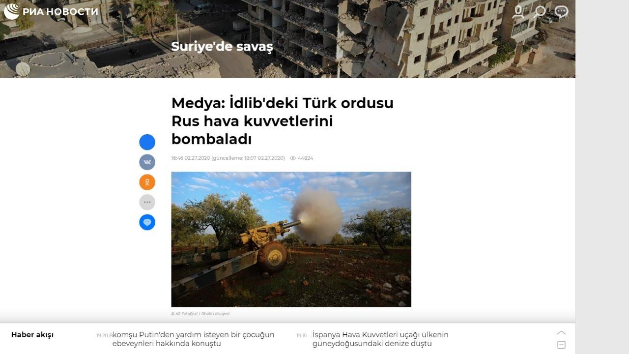 Türk Askeri ve Topçusu İdlib'i Bombalıyor,Ruslar Burada Korkuyor (Son Dakika)
