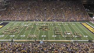 """Dancing through the Decades"" Hawkeye Marching Band Halftime Show /  August 31, 2019."