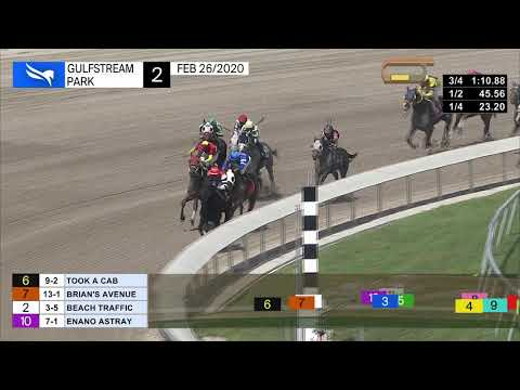 Gulfstream Park February 26, 2020 Race 2