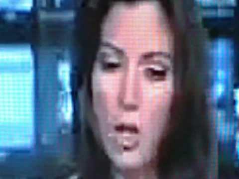 Major Shapeshift on Reptilian News Anchor