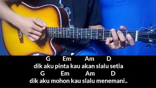Download lagu Chord kunci gitar WALI dik mudah buat pemula MP3