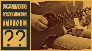 Can you spot this Bollywood Tune ? | DDLJ | Bony Bonzy | Guitar Cover |