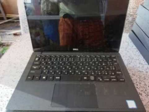 Dell Xps 13 9350 Ultrabook Touchscreen Intel Core I7 6th Gen Youtube