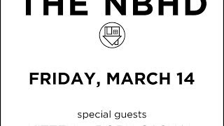The Neighbourhood -  Jealou$y - St. Louis - The Pageant - 3-14-14 - New Song