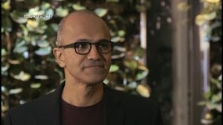 Satya Nadella: Microsoft Best Able to Change the World