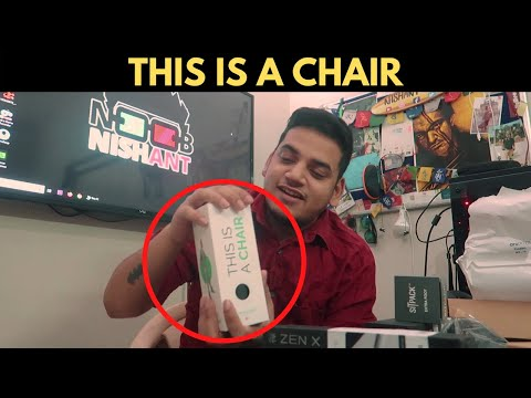 World's Most Compact Foldable Chair - UNBOXING (Hindi)