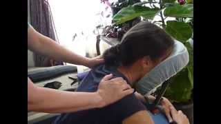 Dee Gale's Upper Body Chair Massage Routine