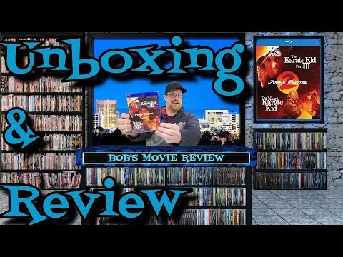 Download The Karate Kid III and The Next Karate Kid Blu-Ray Unboxing and Review