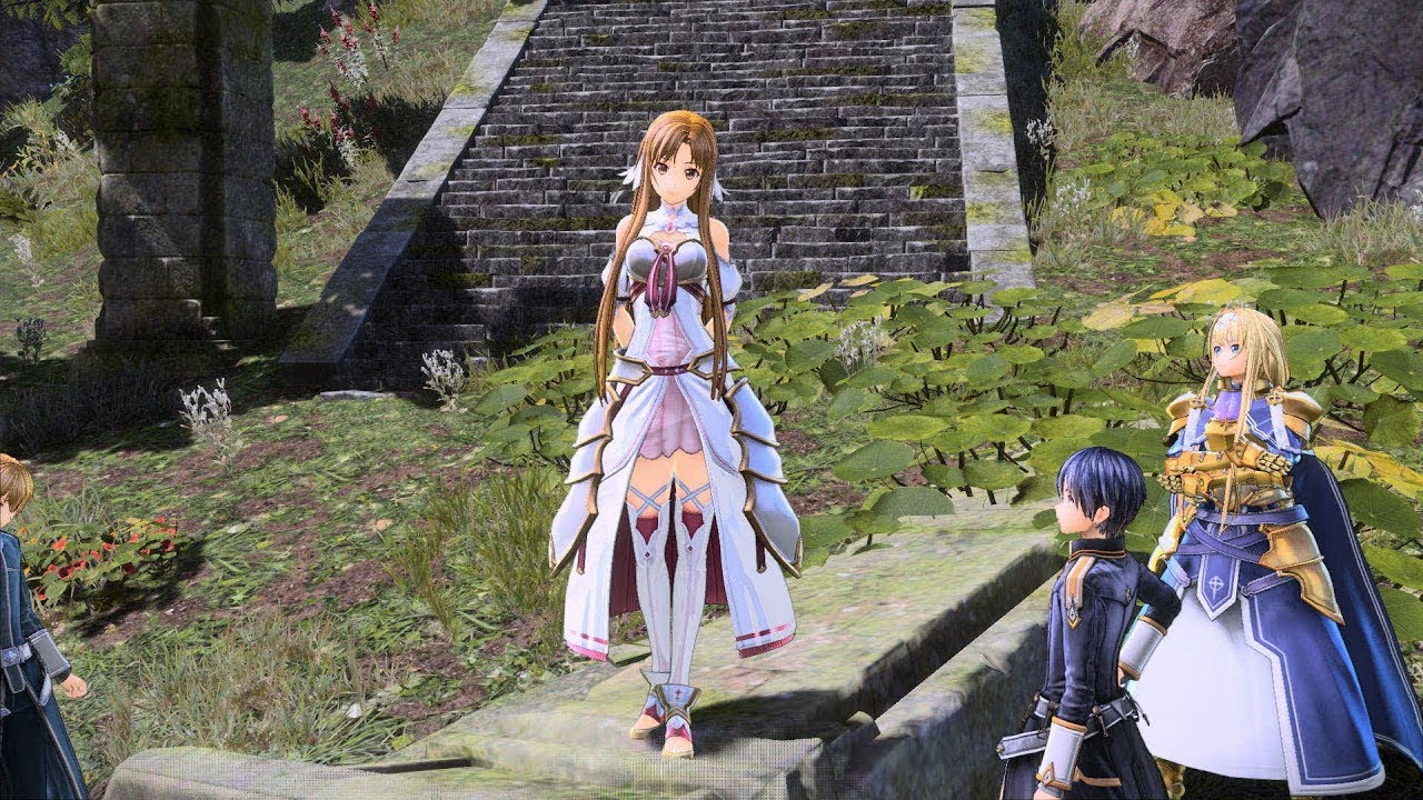 Sword Art Online Alicization Lycoris Asuna Gameplay Youtube
