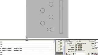 ONGAA CAM Simple Demonstration   SolidWorks directly to WoodWOP MPRs