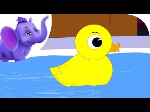 Yellow Ducky - Nursery Rhyme with Karaoke