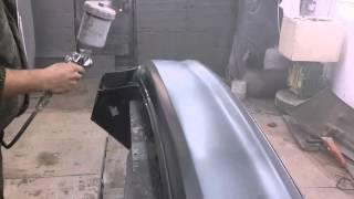 Копия видео Делаем бампер на кию(В этом видео вы увидите как запаять бампер как зашпаклевать зачистить и покрасить бампер металиком и лаком., 2014-11-30T18:41:58.000Z)