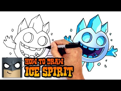 How to Draw Ice Spirit | Clash Royale