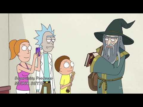 Morty Gets A Dragon (Rick And Morty)