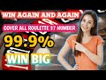 win 99.9%|how to win roulette every time|roulette game|roulette strategy to win|by Roulette Channel