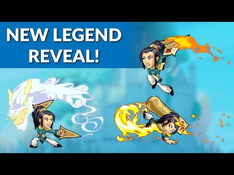New Legend Reveal! - Cannon + Katars - Brawlhalla Dev Stream Montage