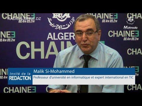 Malik Si Mohammed professeur d'université en informatique et expert international en TIC