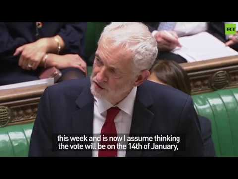 Jeremy Corbyn tables no confidence motion in Theresa May
