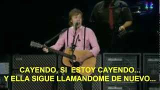 Paul McCartney- Ive Just Seen A Face (Zocalo,Mex) Subtitulada Español
