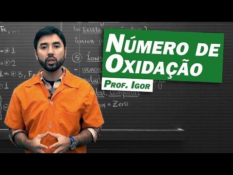 Química - Número de Oxidação (Nox)