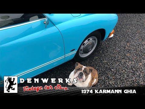 1974 VW Karmann Ghia - Final Year