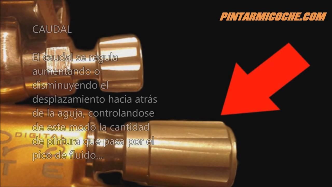 Pintarmicoche com como manejar la pistola de pintar youtube - Como pintar con pistola ...