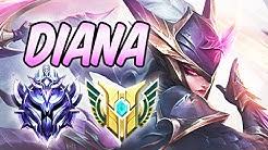 ONE-SHOT BEST CHAMPION TO CLIMB ELO DIAMOND DIANA MID S+ 40% CDR Build & Runes S10 League of Legends