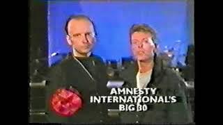 David Bowie - Amnesty International TV Advert Appeal - 1991