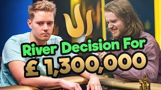 River Decision Vs The BEST ONLINE POKER PLAYER IN THE WORLD