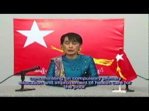 Daw Aung San Suu Kyi 'strategy for Burma. ( 1 April 2012 Elcetion)