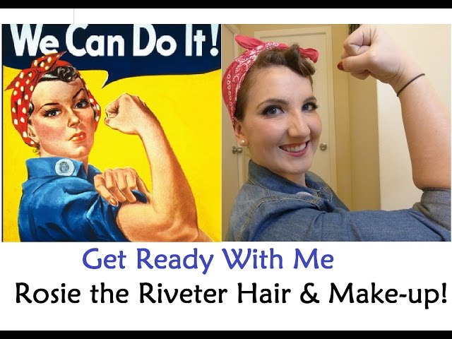 Iphone wallpaper default - Rosie The Riveter Makeup Images Amp Pictures Becuo