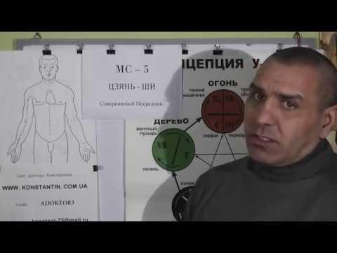 Опухоли в Подмышечной впадение и обл. Точки Акупунктуры в помощь