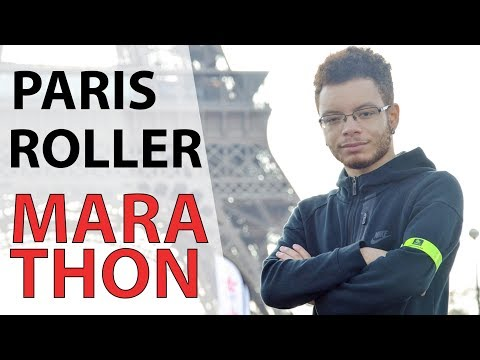 MY FIRST MARATHON - Inline Skating Paris 11-