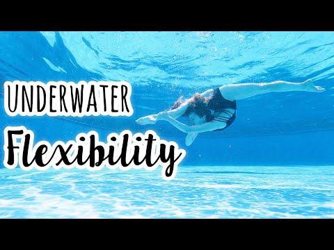 Underwater Flexibility & Gymnastics!