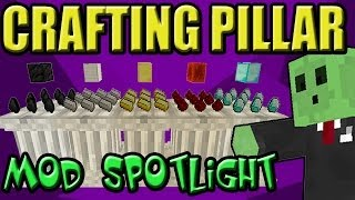 Minecraft Mod SpotLight Crafting Pillar! 1.6.2