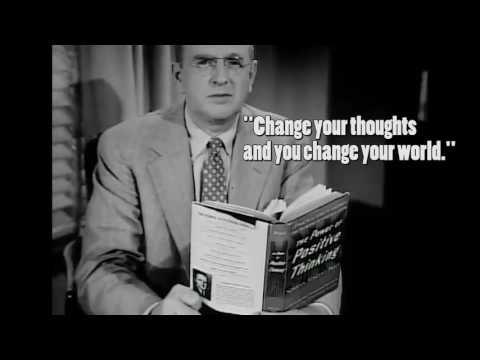 DR NORMAN VINCENT PEALE  - Positive thinkers always get a positive result