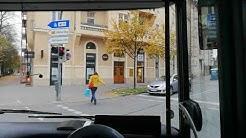 Bus Mitfahrt München Linie 58 von der Giselastraße bis Hauptbahnhof Nord