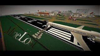 [MineLost promo серия] Остаться в живых после Крушения самолёта 5000 (Minecraft)