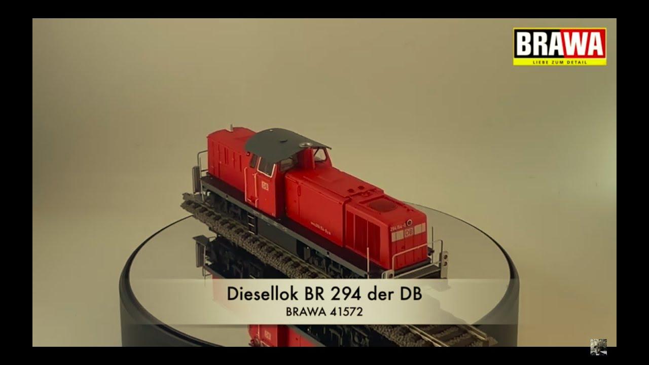 Modellbahn-Vorstellung BRAWA 41572/H0-DC BR294 der DB AG Modellbahn Kramm