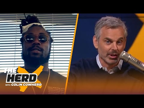 Vikings' Dalvin Cook talks 5-yr $63M contract ext, career highs & Justin Jefferson | NFL | THE HERD
