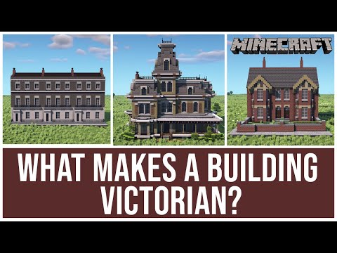 Minecraft Building Styles - Victorian Era Houses