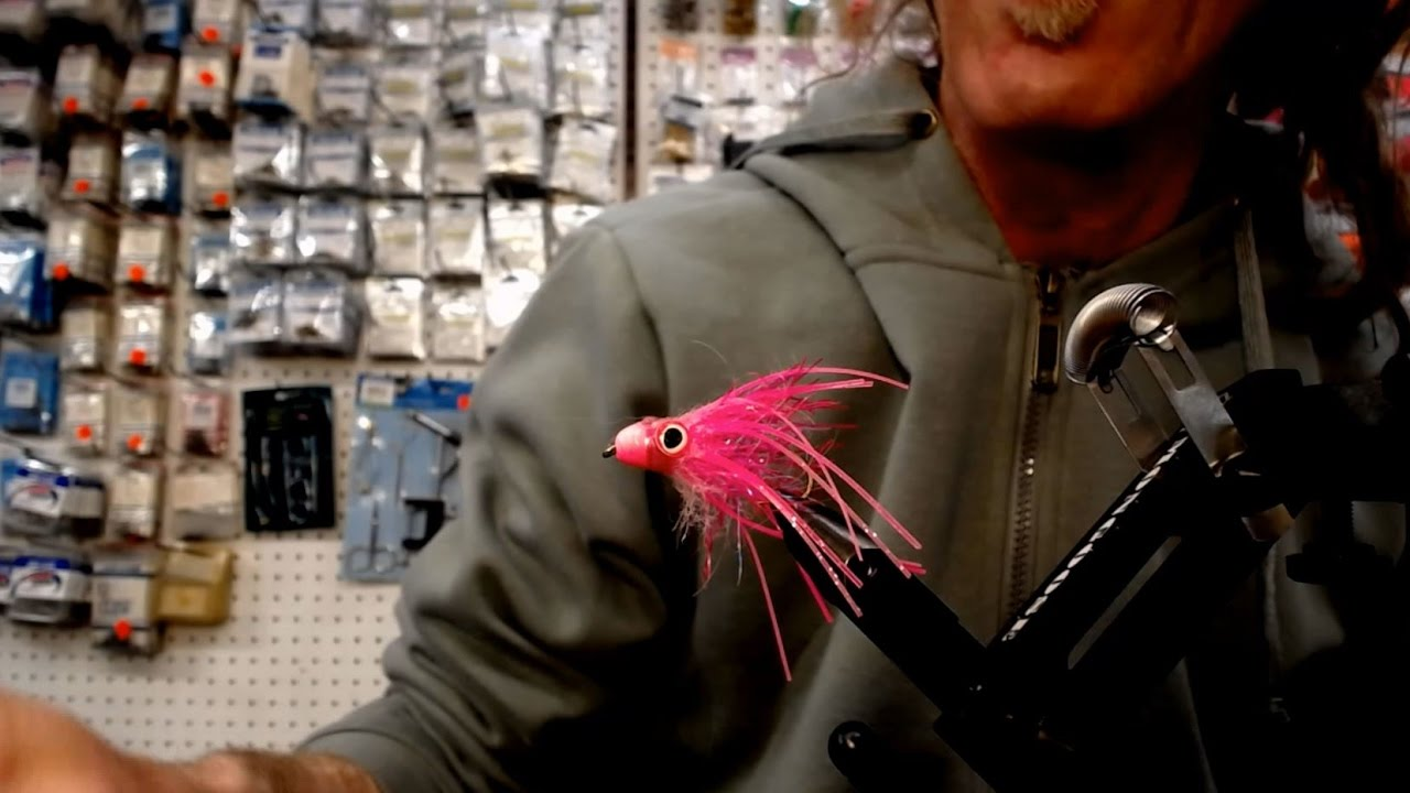 Friday Night Flies - PINK SQUID FLY ( aka the hoochie fly)