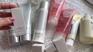 ОБЗОР ? уходовая косметика / первое впечатление Lancôme, Sensai, Dr.Jart, Glamglow, Shiseido .. - Видео от Ana Homey