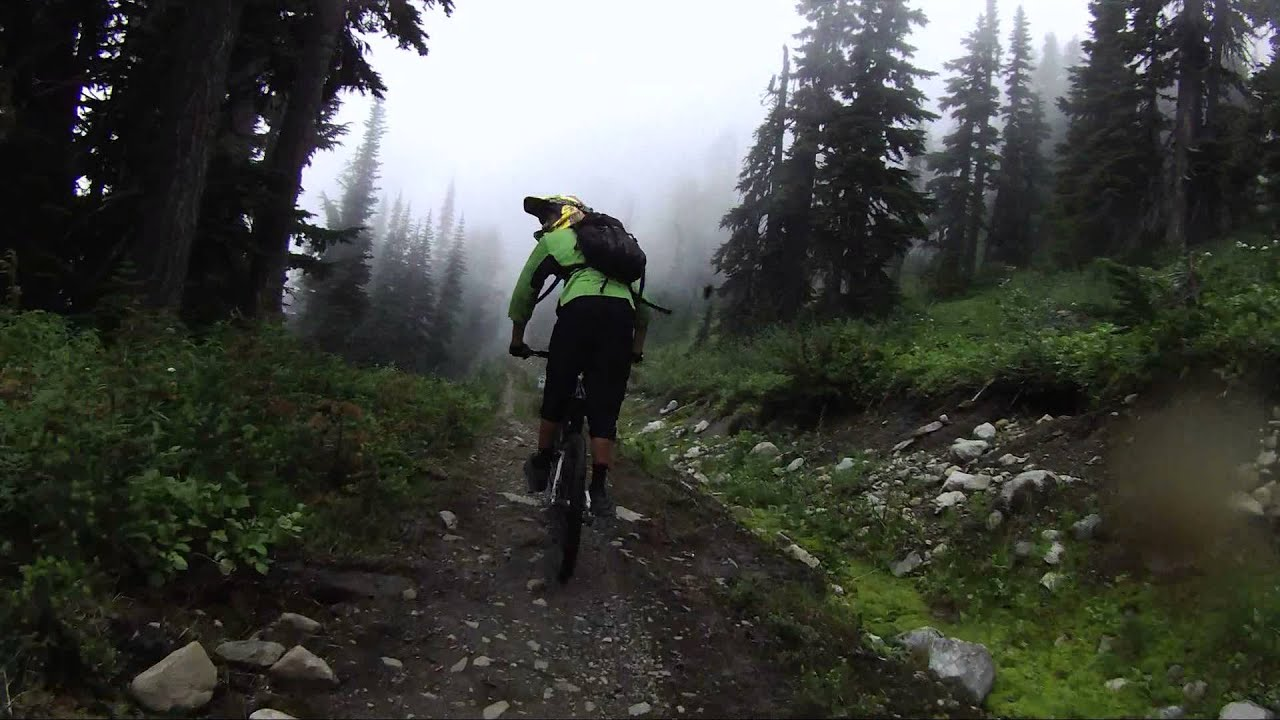 Whistler, B.C. Mountain Bike Park (Top of the World ...