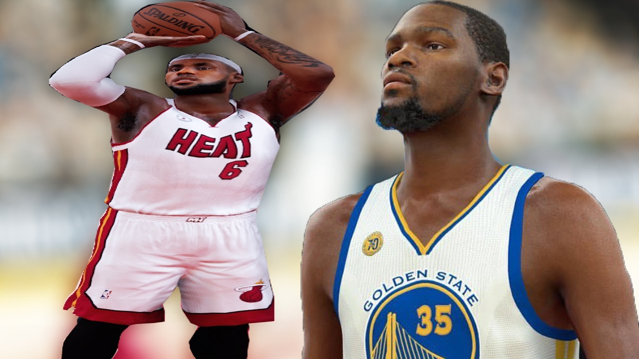 Miami heat lebron jamess vs golden state warriors nba2k17 miami - Can Miami Heat Lebron James Beat Kevin Durant In A 3 Point Contest Nba 2k17 Challenge Youtube