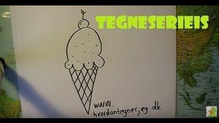 Lær at tegne EN TEGNESERIEIS | HVORDANTEGNERJEG.DK