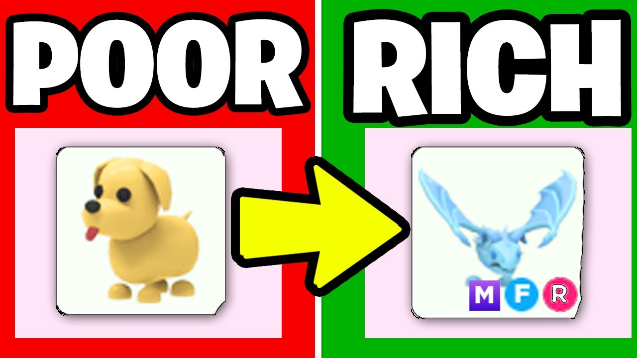 GOING from *POOR to RICH* in Adopt Me!