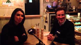 Christine Bleakley lunches with Anton Du Beke
